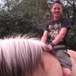 ich und mein pony :P